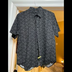 Short sleeve theory $160 button down